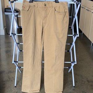 Men's Polo by Ralph Lauren Khaki Pants (Pair 3)